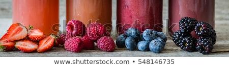 Gyümölcsök hosszú italok friss színes long drink Stock fotó © keko64