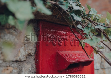 Red postbox Stock photo © zzve