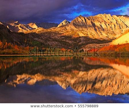 Eastern Sierra Sunset Stock photo © pancaketom