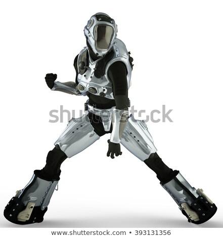 jump figth man Stock photo © Paha_L
