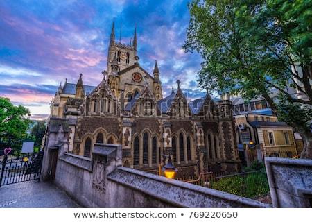 Catedral Londres histórico iglesia viaje culto Foto stock © chrisdorney