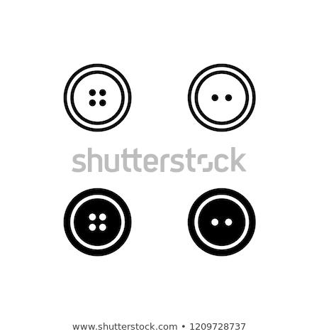 Naaien arrangement top knop Stockfoto © MKucova