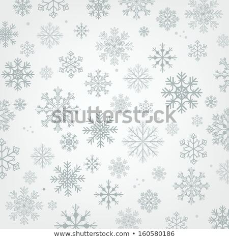 ヴィンテージ 雪 紙 幸せ デザイン レトロな ストックフォト © jelen80