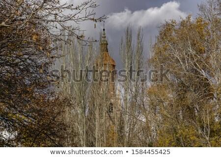 Calamocha Teruel church in Aragon Spain Stock photo © lunamarina