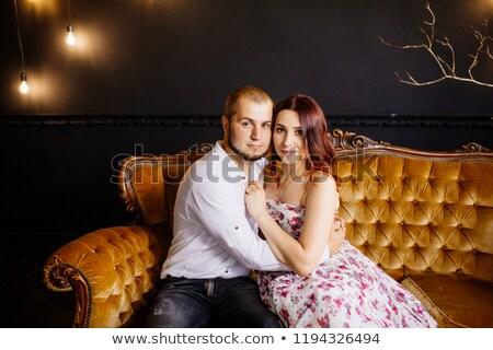 divat · stílus · fotó · káprázatos · nők · visel - stock fotó © konradbak