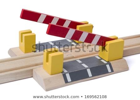 Apertura dar manera ferrocarril tema Foto stock © gewoldi