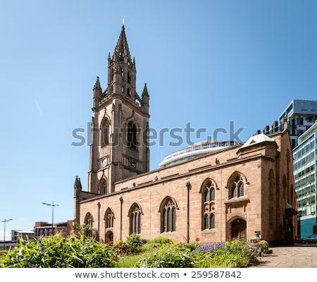 Igreja senhora Liverpool histórico turismo inglês Foto stock © chrisdorney