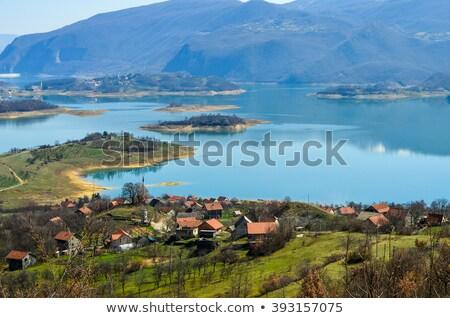 Rama Lake (Ramsko Jezero) in Bosnia-Herzegovina Stock photo © Ximinez