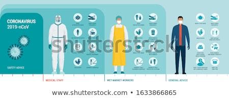 Medical Health Worker in Protective Clothing Stock photo © stevanovicigor