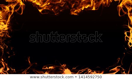 Fire flame Borders Stock photo © unkreatives