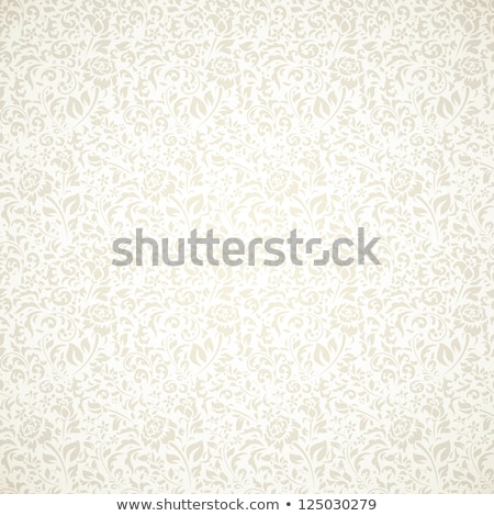vintage background with floral design stock photo © morphart