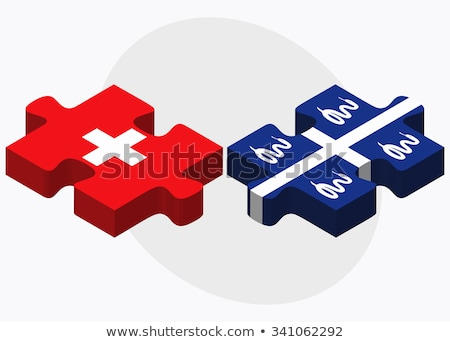 Switzerland and Martinique Flags Stock photo © Istanbul2009