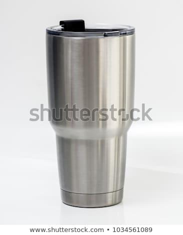 two thermal mugs Stock photo © shutswis