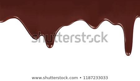 melted chocolate Stock photo © zven0