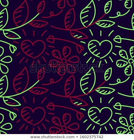 Purple · сердцах · прибыль · на · акцию · вектора · файла - Сток-фото © beholdereye