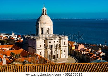 kilise · Lizbon · bölge · Portekiz · Bina - stok fotoğraf © luissantos84
