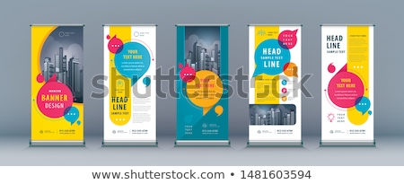 продажи плакат дизайна чате пузырь бизнеса деньги Сток-фото © SArts