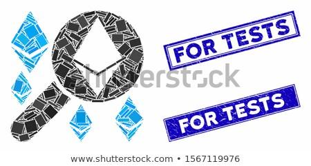 Loupe Search Ethereum Flat Icon Stock photo © ahasoft
