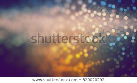 offuscata · giallo · fibra · ottica · texture - foto d'archivio © lightfieldstudios