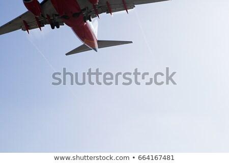 Płaszczyzny lądowanie shot Los Angeles California USA Zdjęcia stock © IS2