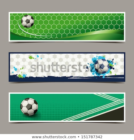 abstract soccer tournament background in grunge style Stock photo © SArts