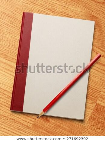 lápiz · borrador · blanco · aislado · 3D - foto stock © iserg