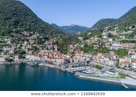 kıyı · göl · İtalya · su · Bina - stok fotoğraf © boggy