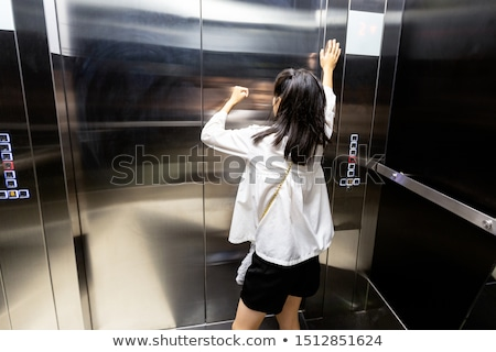Girl Unable To Breathe Stock photo © AndreyPopov