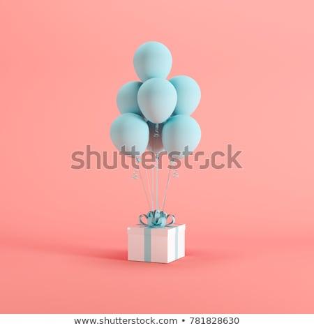 Valentin · ballons · illustration · homme - photo stock © ruslanshramko