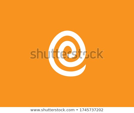 Stock photo: Easter holiday letter E