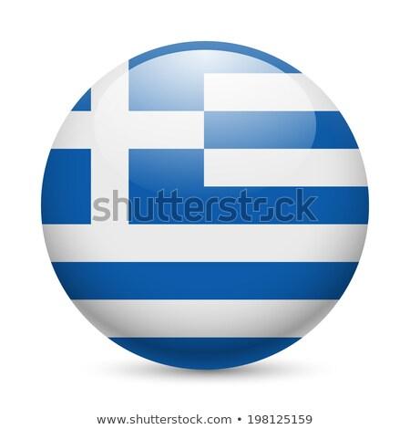 Bandeira Grécia forma ilustração projeto fundo Foto stock © colematt