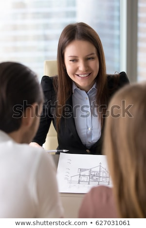 group of female friends renovating the house stock photo © kzenon