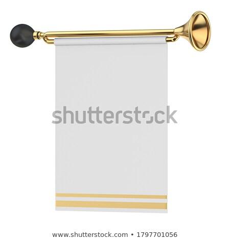 Arany 3D 3d render illusztráció izolált fehér Stock fotó © djmilic