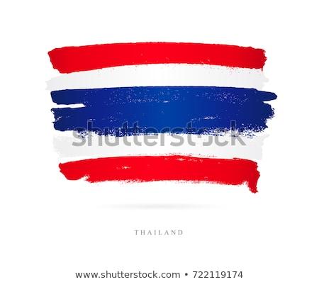 Kingdom of Thailand flag  Stock photo © grafvision