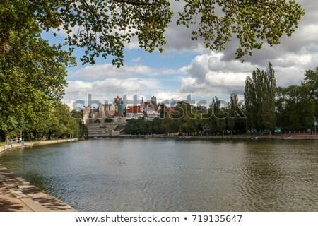 замок Германия мнение небе здании путешествия Сток-фото © borisb17