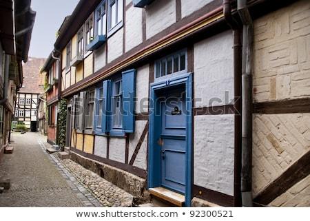 Marktkirche in Quedlinburg, Germany Stock photo © borisb17