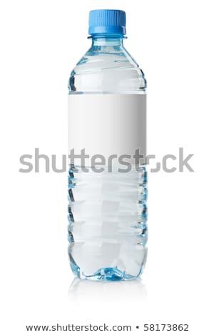 water · fles · zwarte · licht · gezondheid - stockfoto © bdspn