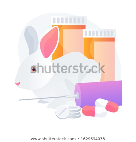 Animal lab tests vector concept metaphor Stock photo © RAStudio