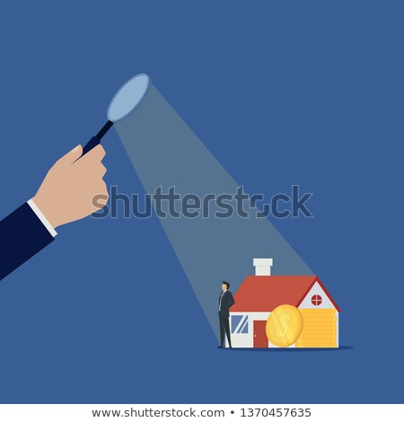 Invest in Building, Real Estate, Economic Vector Stock photo © robuart