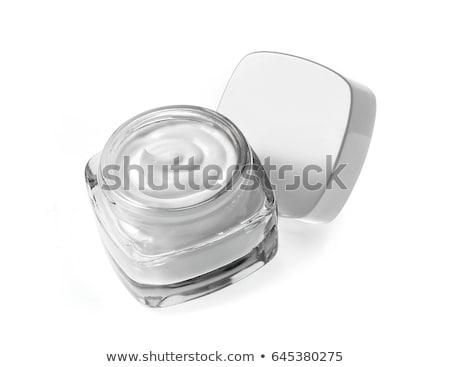 Face cream moisturizer jar on white background, moisturizing ski Stock photo © Anneleven