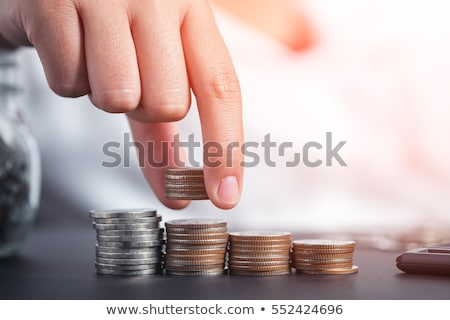 Save Money. Salary, Inflation And Budget Stock photo © AndreyPopov