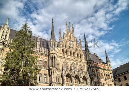 Municipal building New Town Hall in the city centre of Munich, Germany. Stock photo © artjazz
