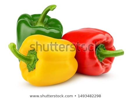 three sweet peppers stock photo © aladin66