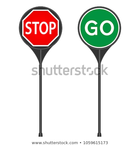 Go Sign - Isolated Stock photo © iqoncept
