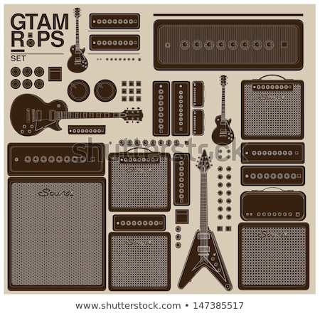 guitar amplifier acoustic stock photo © sumners
