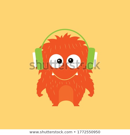 Music Monster Stock photo © blamb