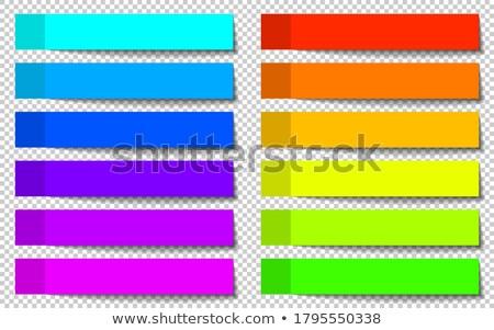 naptár · sablon · szett · vektor · valósághű · akasztás - stock fotó © place4design