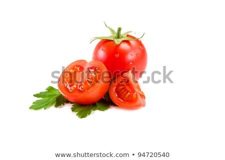Cherry Tomatoes And Parsley Stock fotó © Francesco83