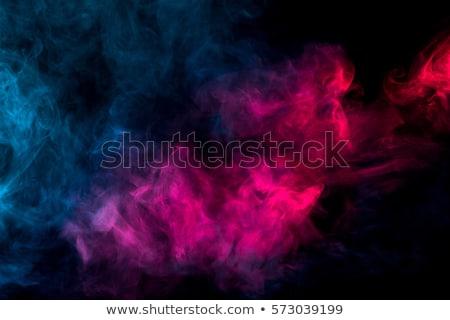 Kék absztrakt füst fekete víz tűz Stock fotó © grasycho