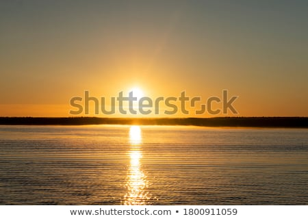 Lake is crystal clear Stock photo © zzve